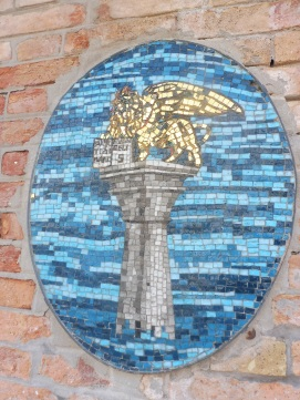 Murano glass mosaic