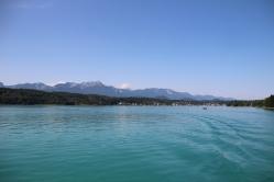 The beautiful lake and its scenery.