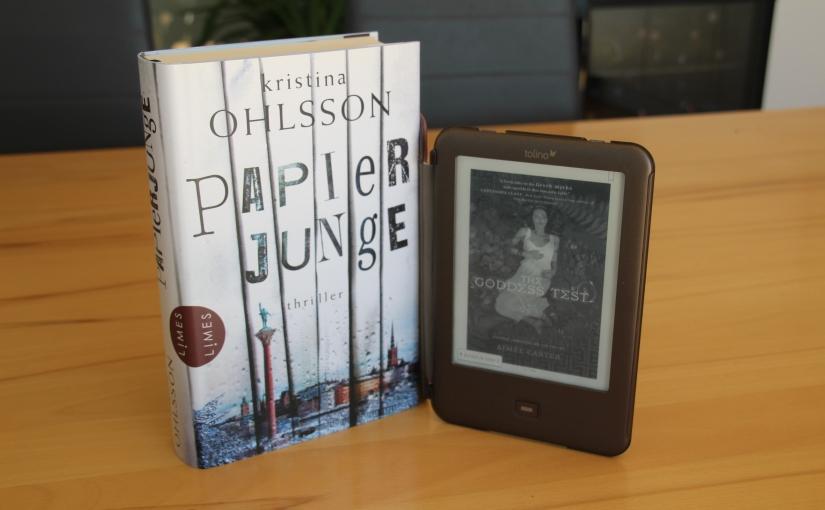 Reading habits: book vs.e-reader