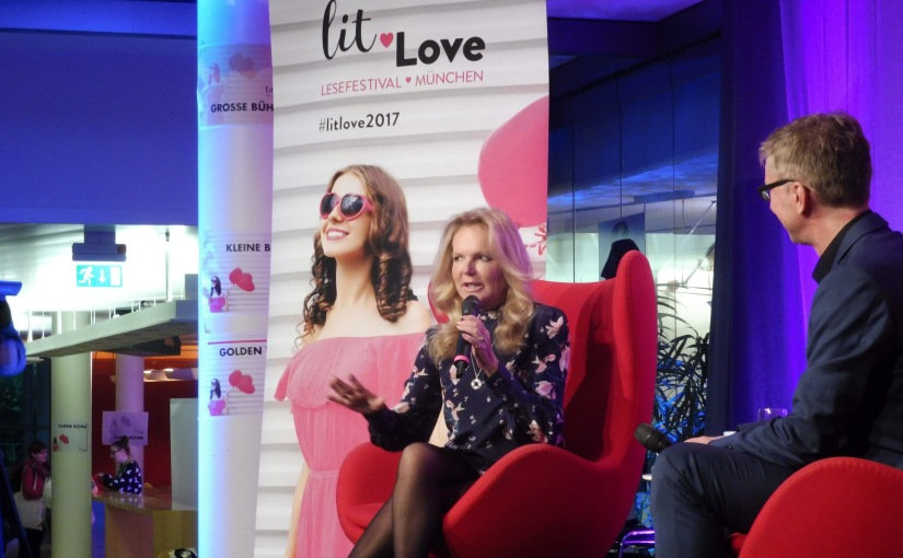 lit.Love in Munich (with Lucinda Riley)